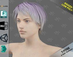 Naked Girl4 3D asset