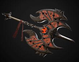 3D model Dragon Axe