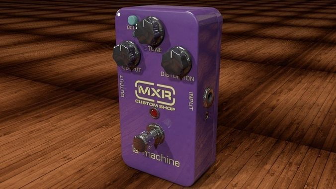 dunlop mxr la machine 3d model obj mtl 3ds c4d dxf 1