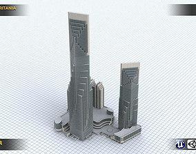 Skycrapper Britania 3D model