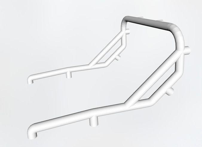roll bar or cage 3d model stl 1