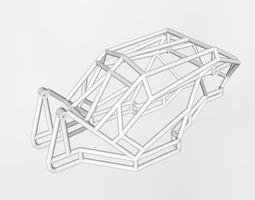 Rock racer cage 3D print model