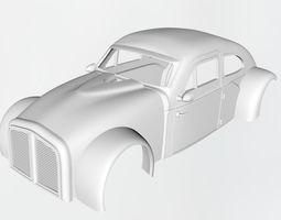 3D print model 50s fastback