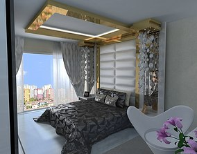 bedroom 3D asset game-ready