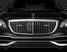 3D model Mercedes Maybach S 650 Guard X222 2019