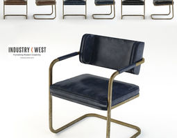 JIMMY COOPER CHAIR Industry West 3D