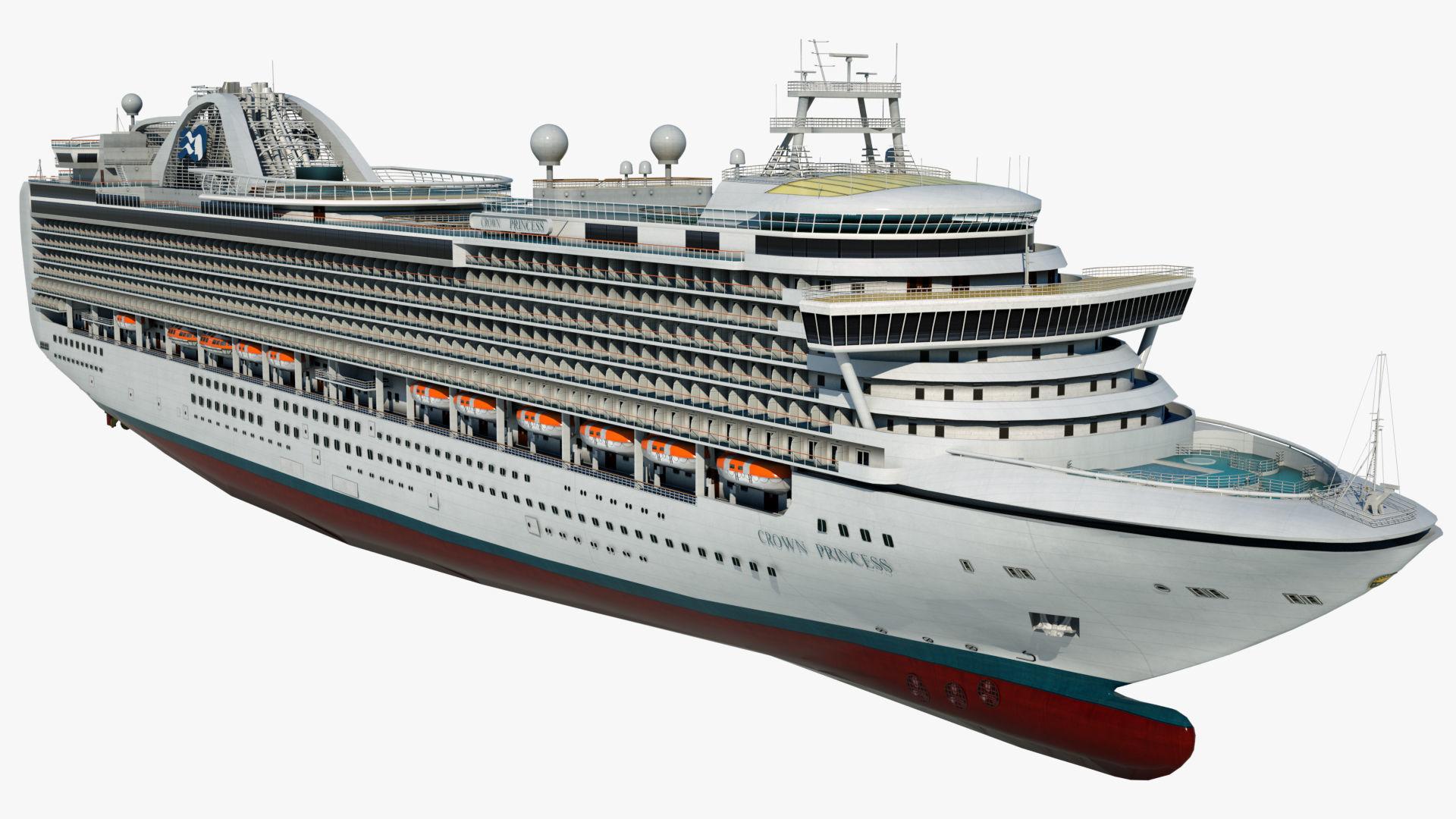 Cruise Ship Crown Princess