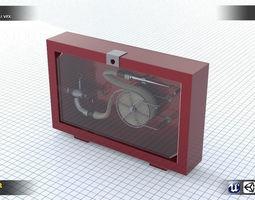 Fire Kit 3D asset