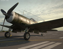3D Vought F4U Corsair