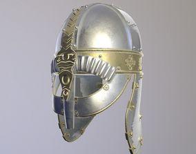 3D Knight Metal Helmet
