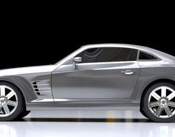 3D model 2019 Sport Car