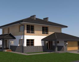 house design PLA file 3D