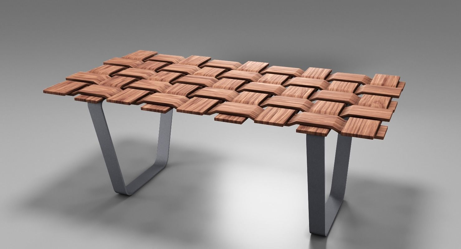 Checkmate Wooden Table