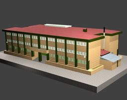 School 3D model education