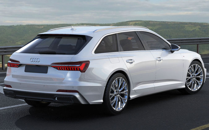 Audi A6 Avant 2019 S Line 3d Cgtrader