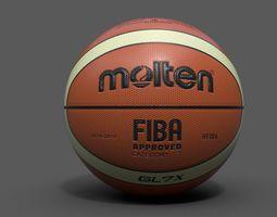 molten official basketball world cup ball  PBR 3d