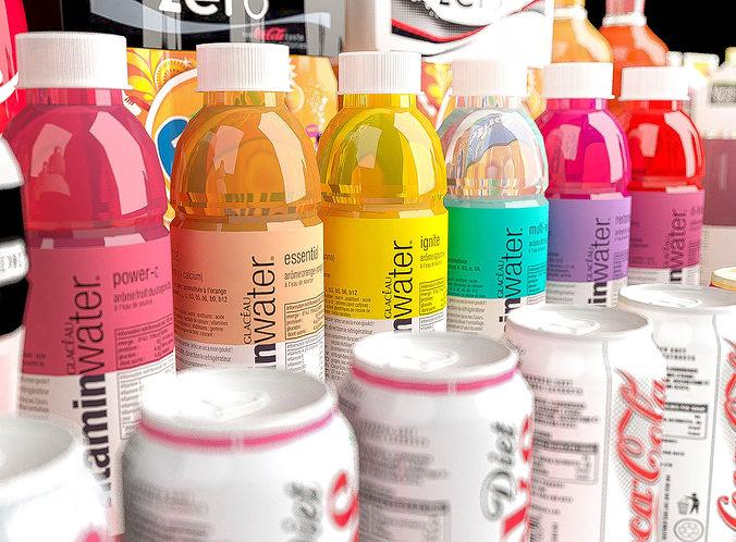 products coca cola  3d model max obj mtl fbx wrl wrz 1