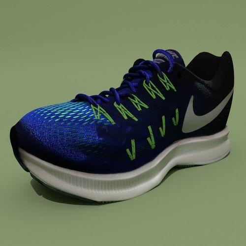 Sport Shoe 3D model OBJ MTL 3DS FBX BLEND 5f00024cc