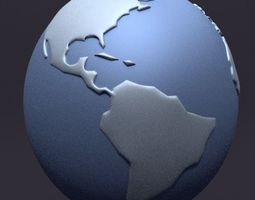 3D Globe Planet Earth