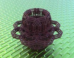 bro woven torus 3d print model