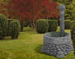 3D model Stone Fountain