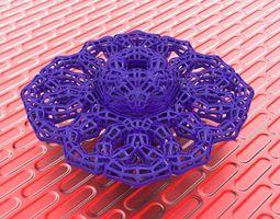3d printable model bro woven lumpy torus