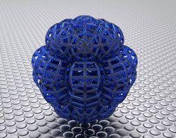 3d print model bro woven sphere