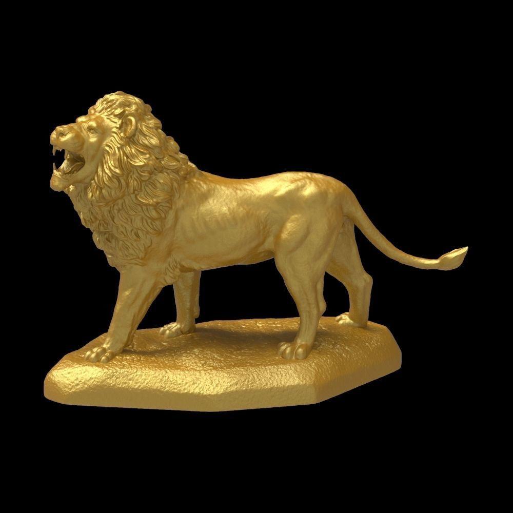 Big Lion Sculpture