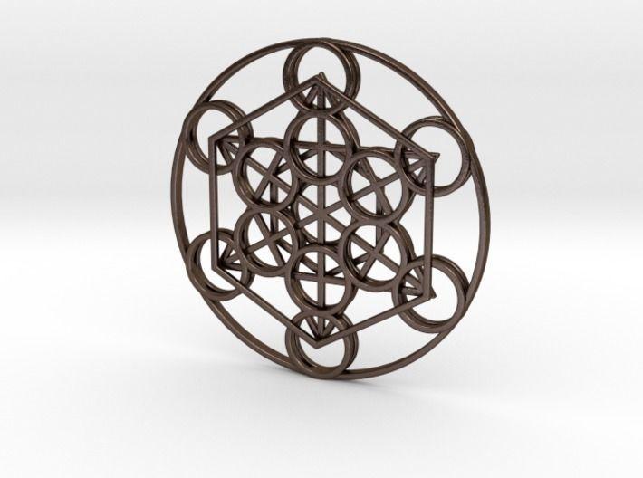 Metatron Cube Pendant