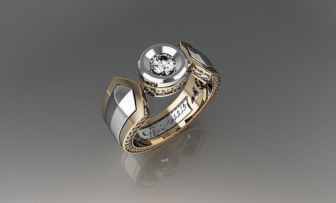 ring mariya 3d model 3dm 1