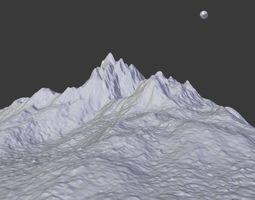 mountains Mountain Model 3D