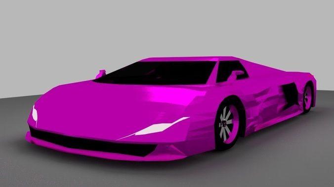 Supercar J1 Purple
