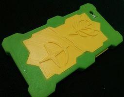 iphone 5s case 3d print model