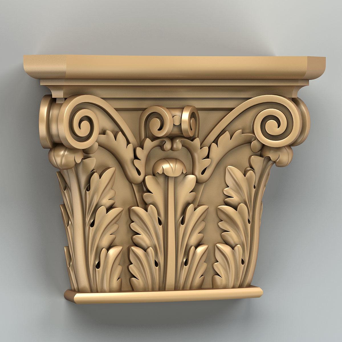 Column capital 008