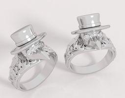3D print model Ring plague doctor