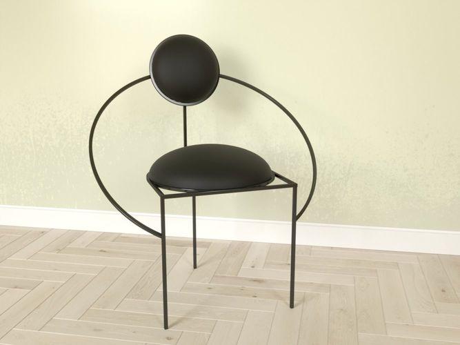 Chair Orbit By Lara Bohinc 3D Model