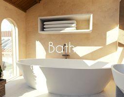 3D model Luxury Bath
