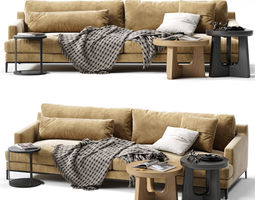 3D POLIFORM BELLPORT Sofa