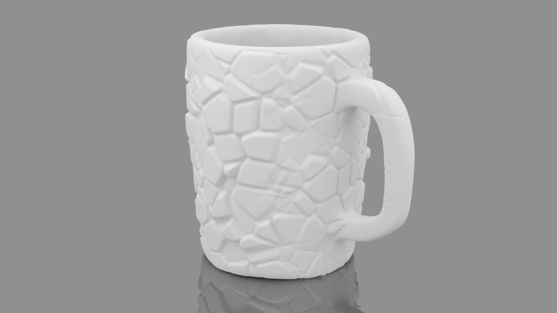 Cracked Surface Cup