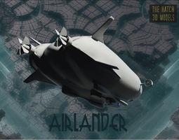 Airlander 3D asset