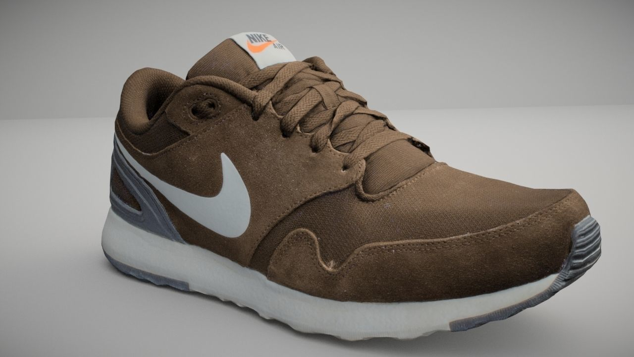 Nike shoe low poly 3D model