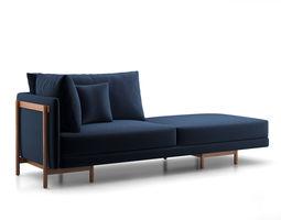 Neri Hu Frame Sofa System 3D model