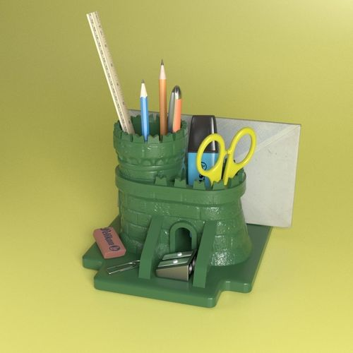 Meval Keep Desk Organizer 3d Print Model