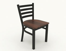 3d restaurant chair