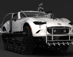 3D Mad Max Mazda MX 5 Maita Crusher