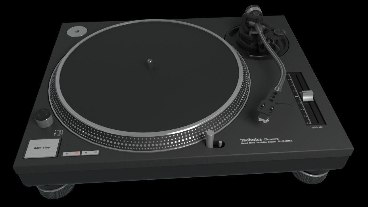 Technics SL1200 Mk2 Turntable