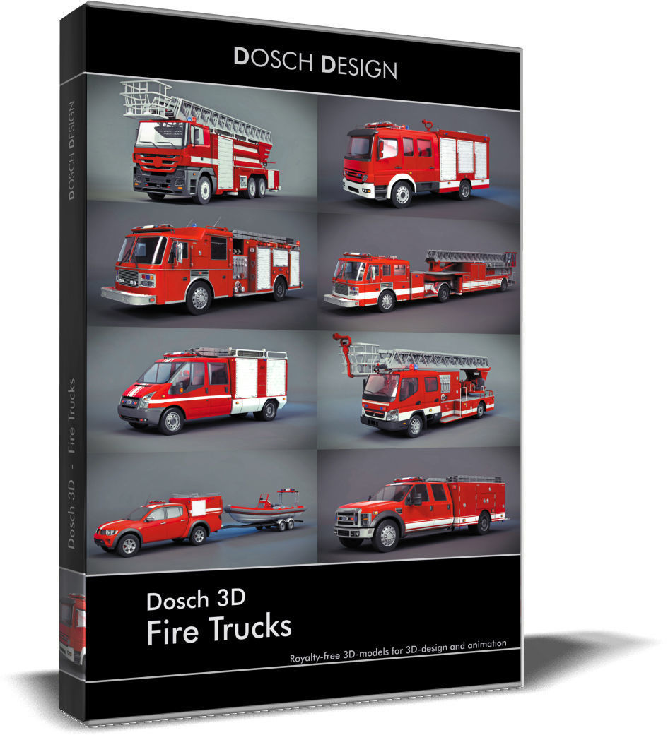 Dosch 3D - Fire Trucks