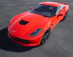 3D model Chevrolet Corvette Stingray
