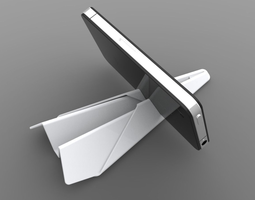 3D model Paper Plane Phone and Tablet Stand