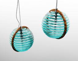 3D model 0905 Glass lamp